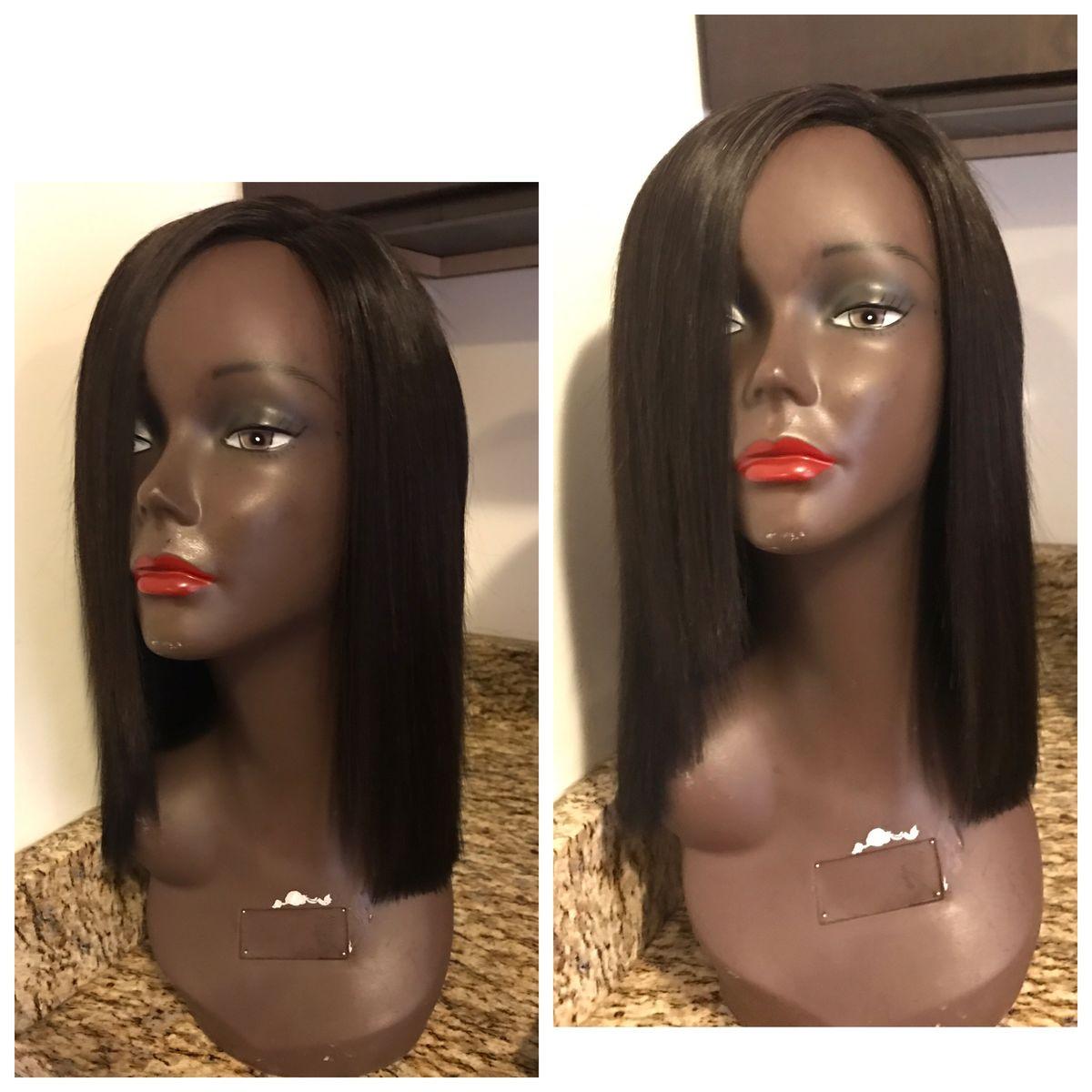 Lace Closure Side Part Blunt Cut Madam B