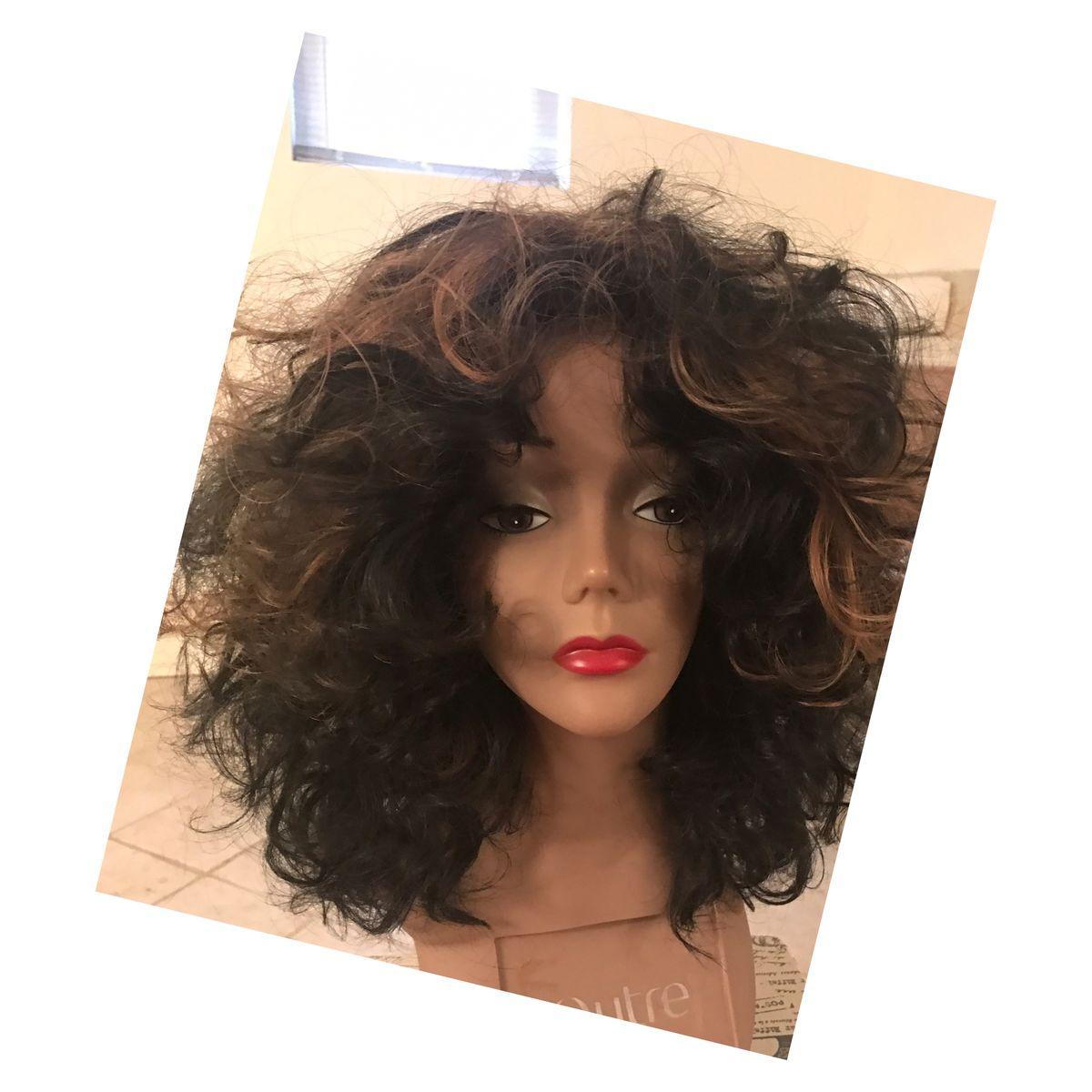 Curly Unit Blackhoney Blonde Highlights Madam B