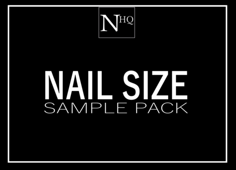 Size,Sample,Pack,press on nails, fake nails, false nails, fake nails uk