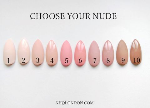 NUDE,COLLECTION,nude press on nails, neutral press on nails, custom press on nails
