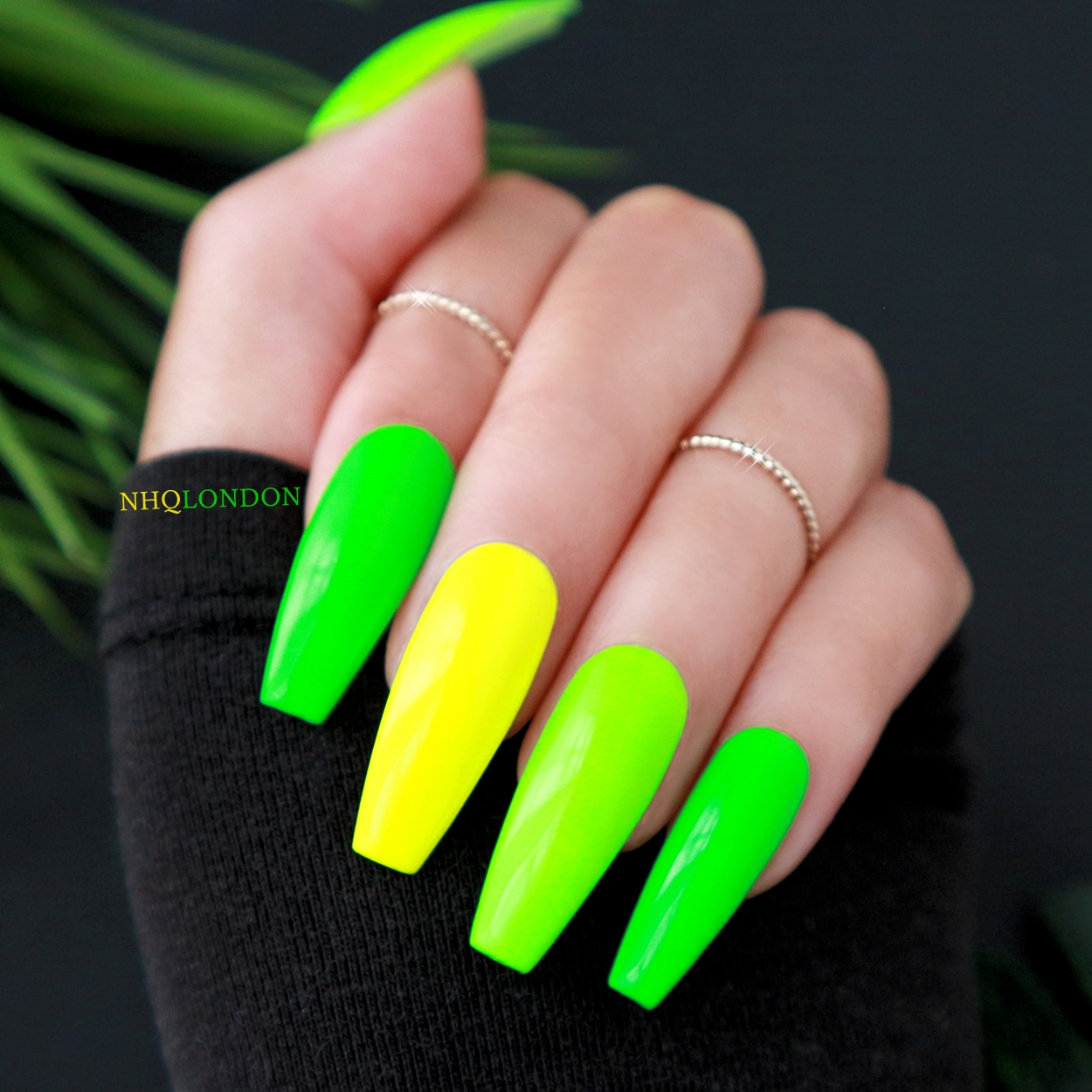 Neon Coffin Nails NHQ London