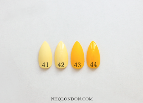 COLOUR,COLLECTION,#3,press on nails, faux nails, yellow press on nails, custom press on nails
