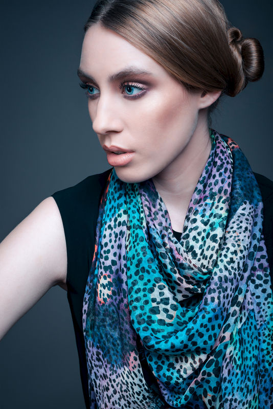 Rainbow Leopard Scarf - product images  of