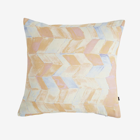 Tutti,Frutti,Cushion,cushion, digital print, printed cushion, amy sia cushion, amy sia, cushion, watercolour, watercolour cushion, abstract cushion, watercolour abstract cushion, painterly cushion, made in the uk, made in britain, orange cush