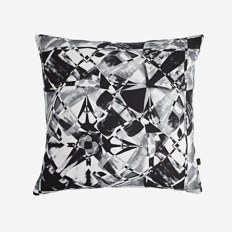 Fractured Charcoal Cushion - product images  of