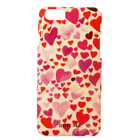 Mini,Heart,print,Iphone5,Case,iphone6 case, heart print, valentine's day, gift, iphone5 case, printed iphone case, iphone case, amy sia iphone
