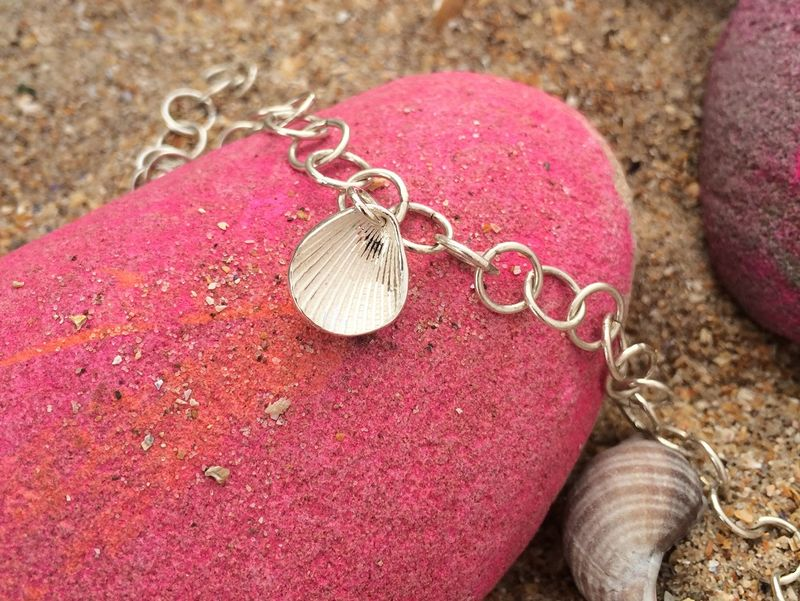 Silver Shell Charm - product images  of