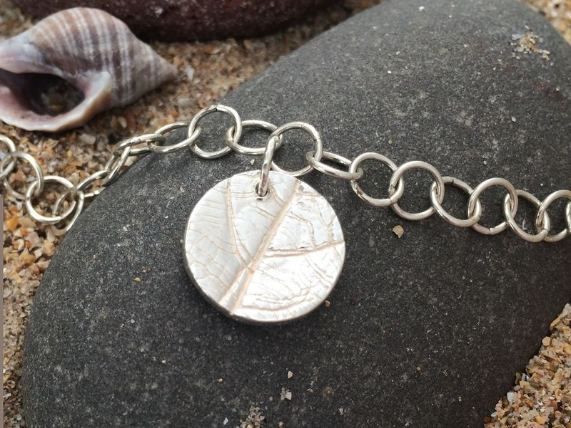 Silver Leaf Pendant - product images  of