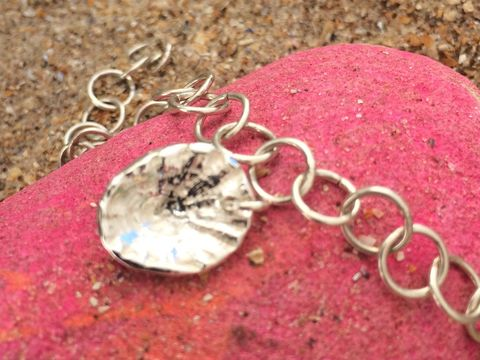 Silver,limpet,shell,charm,Silver limpet shell pendant