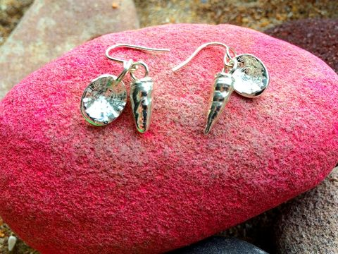 Silver,shell,drop,earrings,silver earrings, silver jewellery, shell earrings, drop earrings