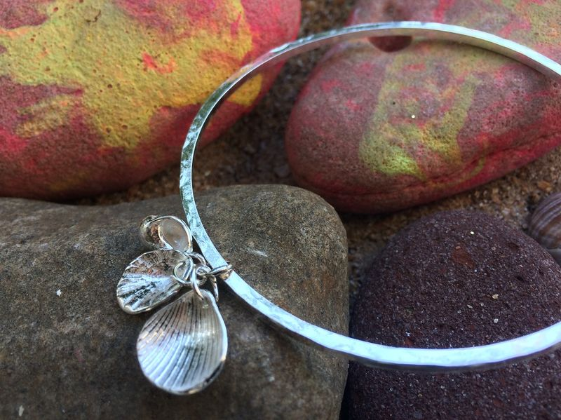 Shell collection bangle - product images  of