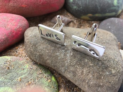Signature,cufflinks,Silver signature cufflinks, personalised silver cufflinks, personalised jewellery