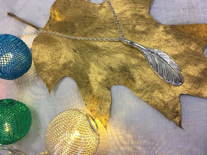 Feather necklace - product images  of