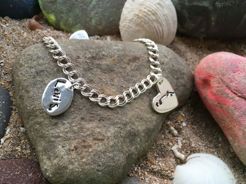 Signature,bracelet,Signature jewellery, personalised gifts, handprint jewellery, silver personalised presents