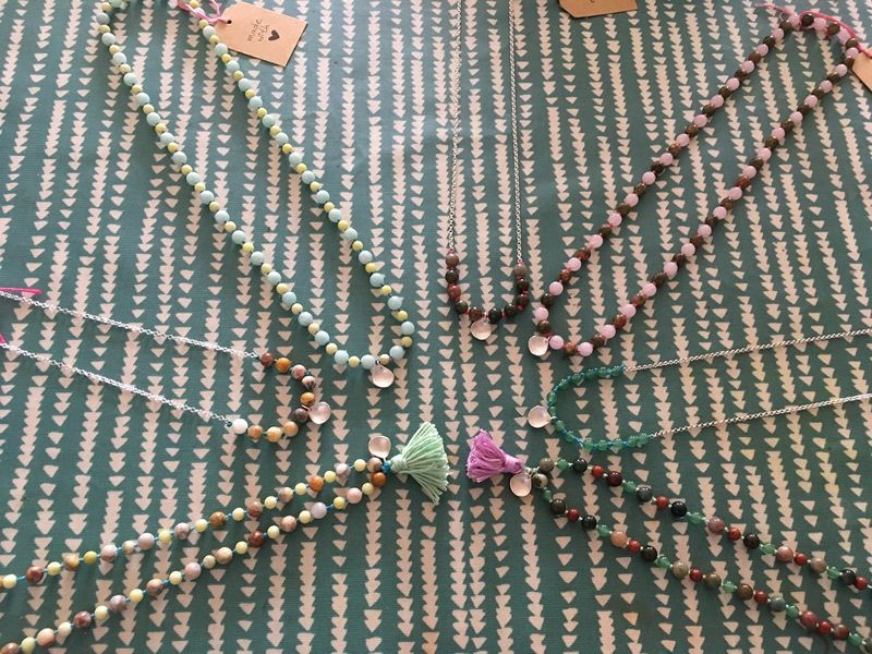 Yoga beaded necklace - product images  of
