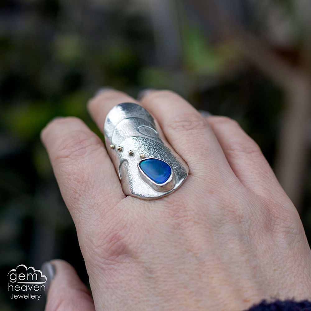 Warrior of the Tides - statement ring - product images  of
