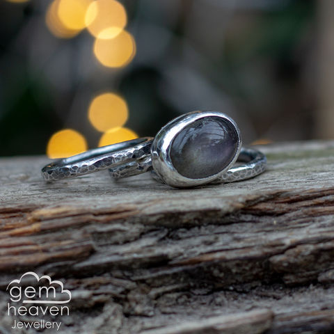 Alchemy,Stacking,set,with,Labradorite, stacking ring, stacker ring, , gemstone, stone ring, rustic silver, sterling silver, boho style, bohemian style, uk made, cornish jewellery, bohemian jewellery, cornish jeweller, design, hand crafted