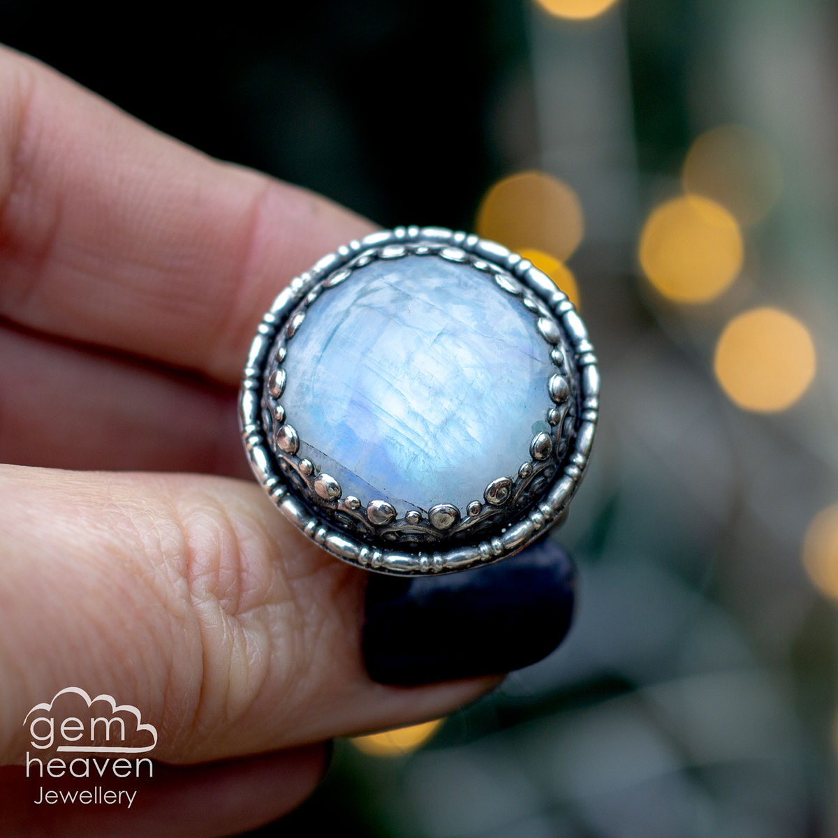 Bright moon Ring - product images  of