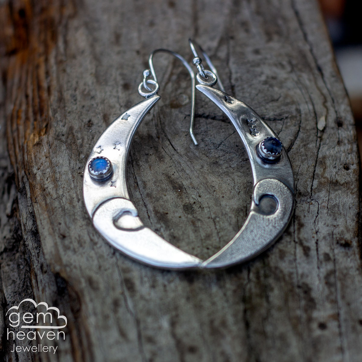 Tidal moon earrings - product images  of