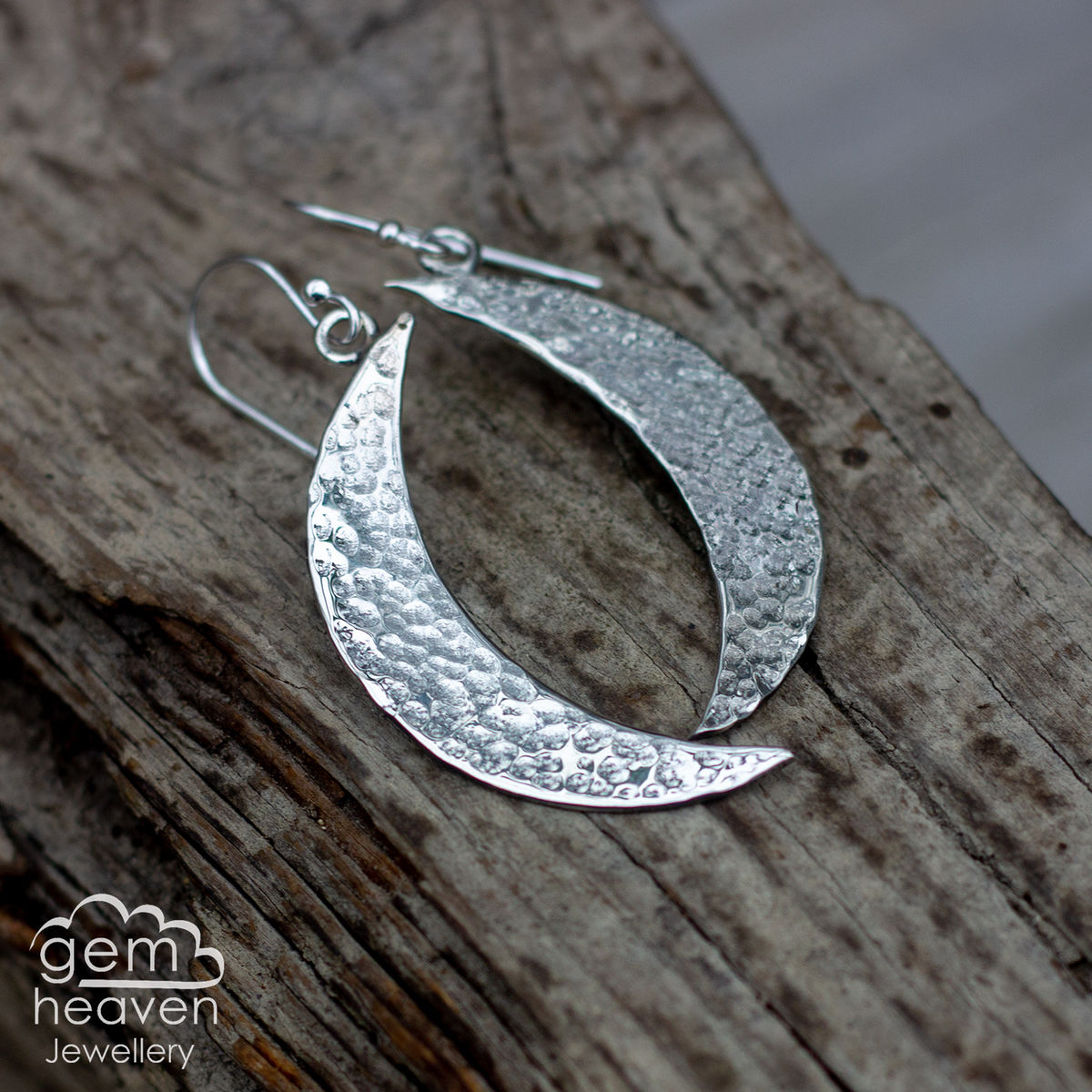 Made to order - Pure Moon earrings  - product images  of