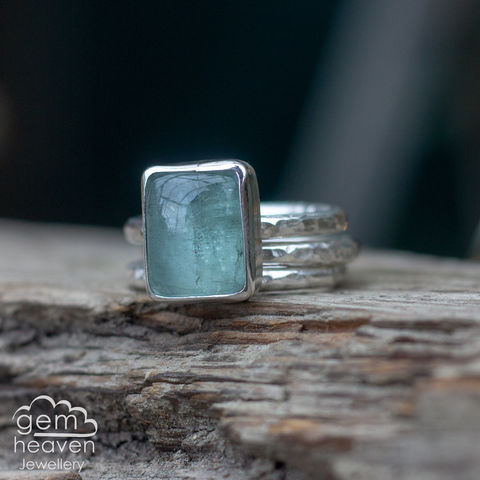 Alchemy,Stacking,set,with,Aquamarine, stacking ring, stacker ring, , gemstone, stone ring, rustic silver, sterling silver, boho style, bohemian style, uk made, cornish jewellery, bohemian jewellery, cornish jeweller, design, hand crafted