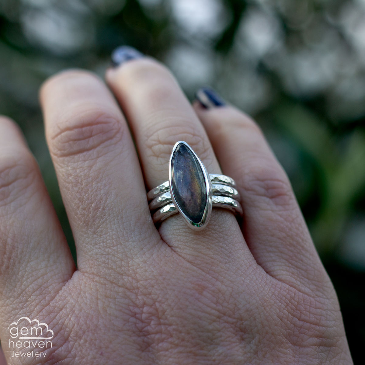 Alchemy Stacking set with Labradorite - product image