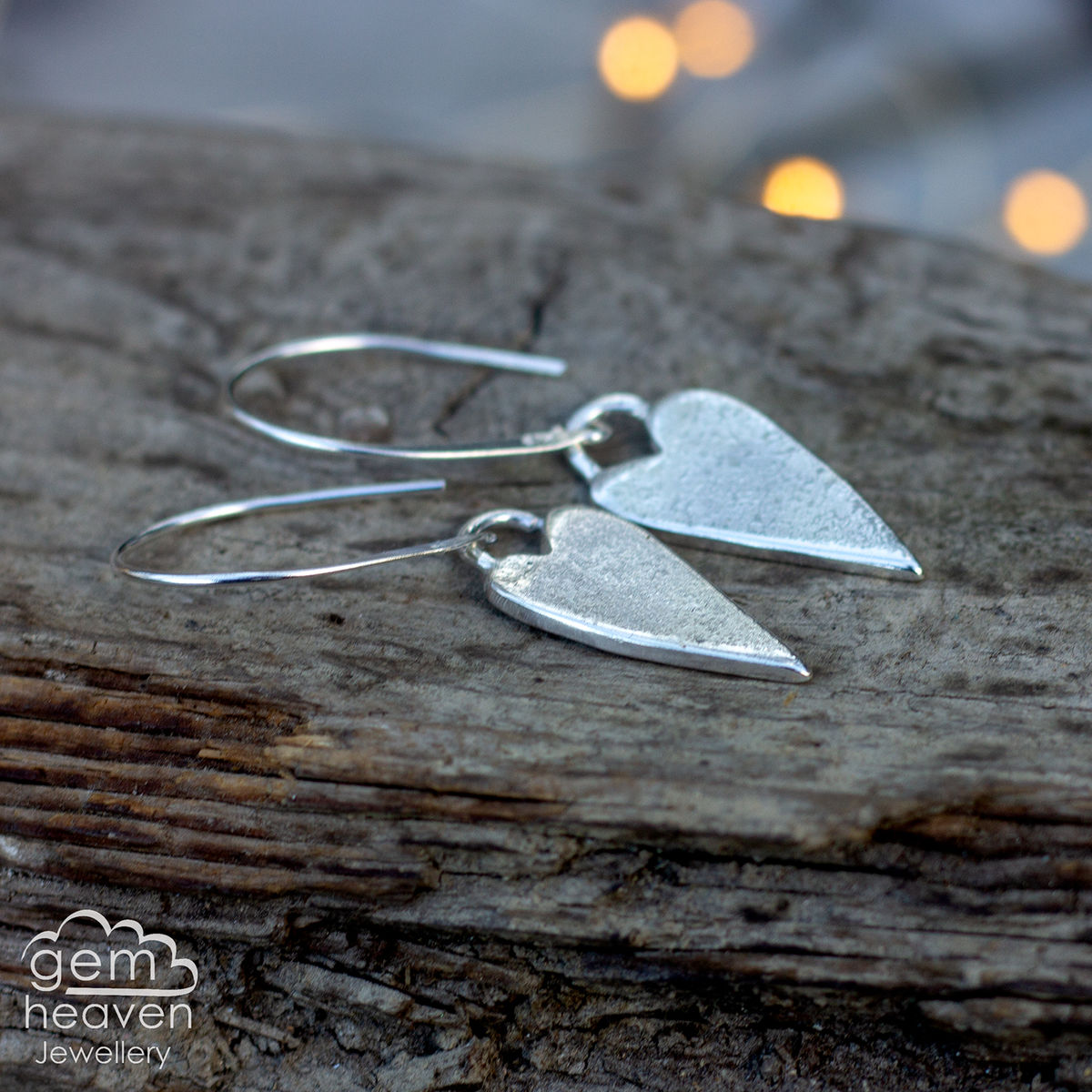 My Rustic Heart earrings - product images  of