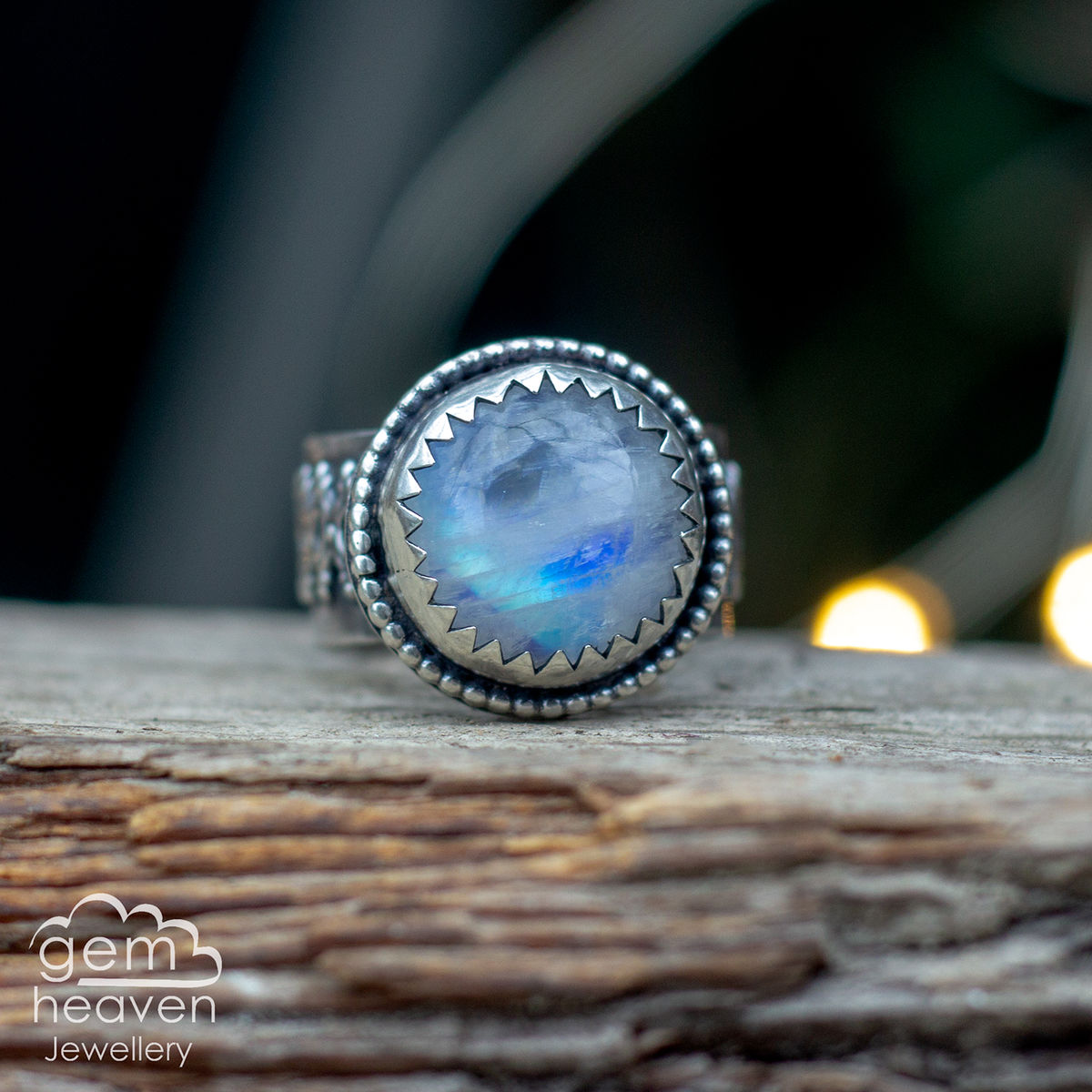 Clear moon Ring - product images  of