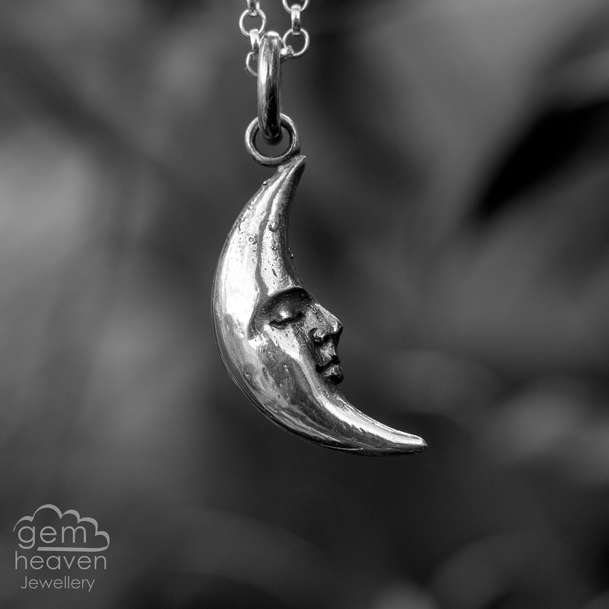 Far side of the Moon Pendant (Storyteller collection) - product images  of