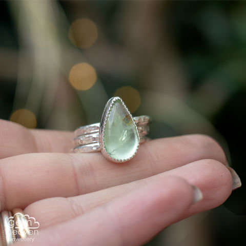 Alchemy,Stacking,set,Aquamarine ring, stacking ring, stacker ring, , gemstone, stone ring, rustic silver, sterling silver, boho style, bohemian style, uk made, cornish jewellery, bohemian jewellery, cornish jeweller, design, hand crafted