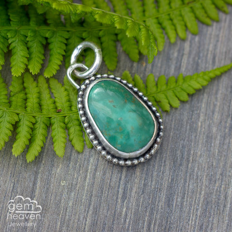 Storyteller,Turquoise,Charm,Shell, storyteller, charms, uk made, gemheaven, bohemian jewellery, sterling silver, made by hand, handcrafted, handmade jewellery,