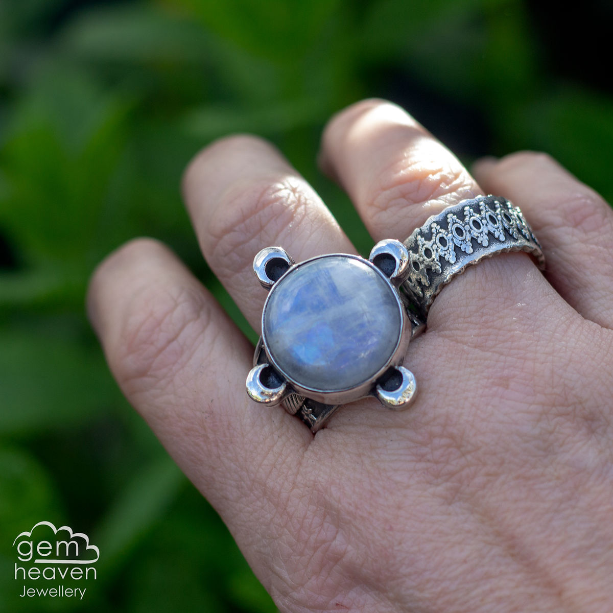 Guide Me by The Moon Statement ring  - product images  of