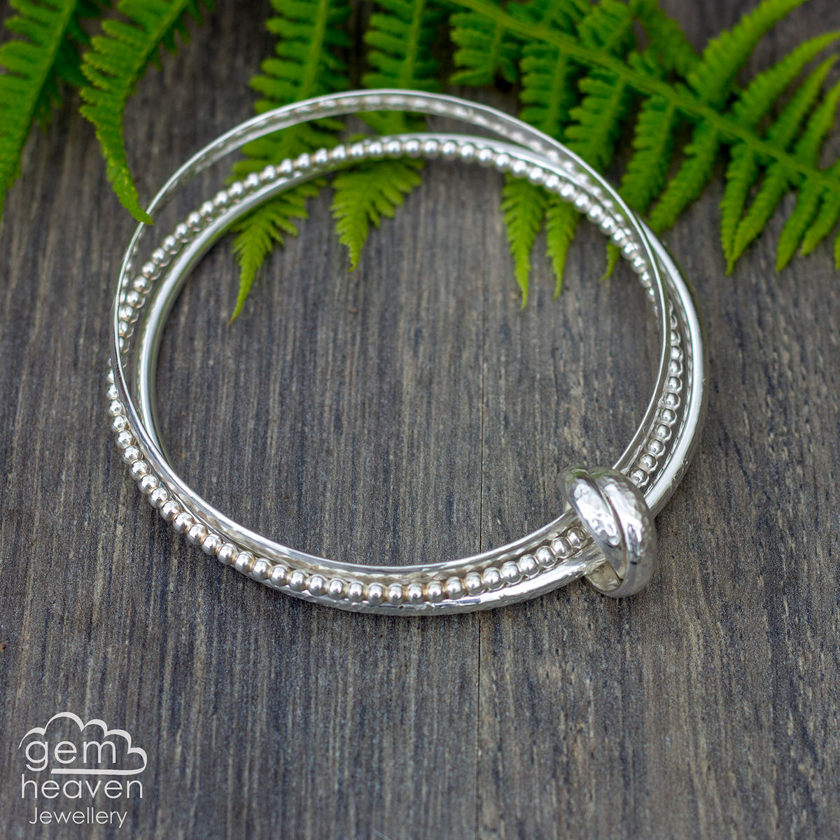 Entwined bangle Trio - product images  of
