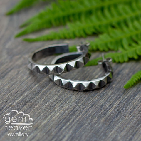 Sass,Hoops,post,earrings,hoop earrings, sleepers, stud earrings, sterling silver, silver post earrings, cornish jewellery, cornish jeweller, uk made, boho style, bohemian chic,