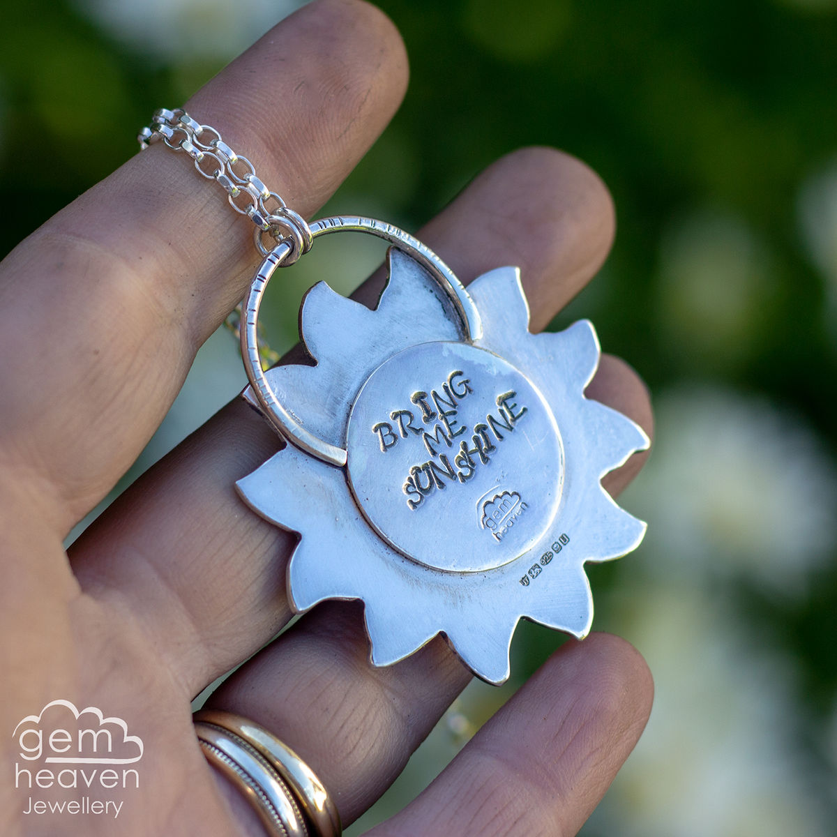 Bring me Sunshine ~ statement necklace - product images  of