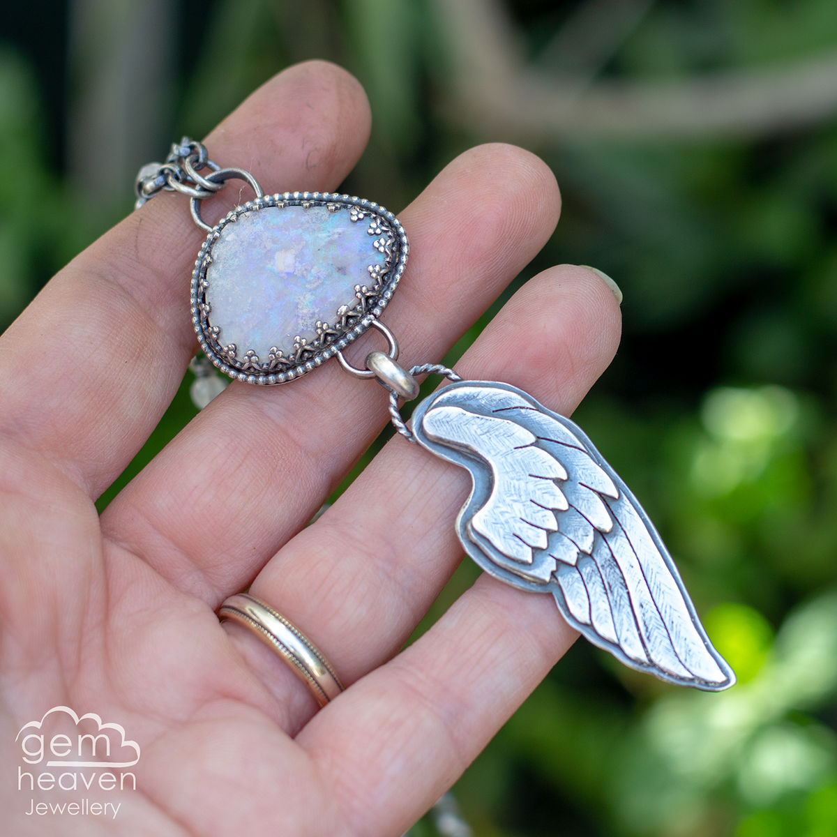 with Brave Wings ~ statement necklace - product images  of