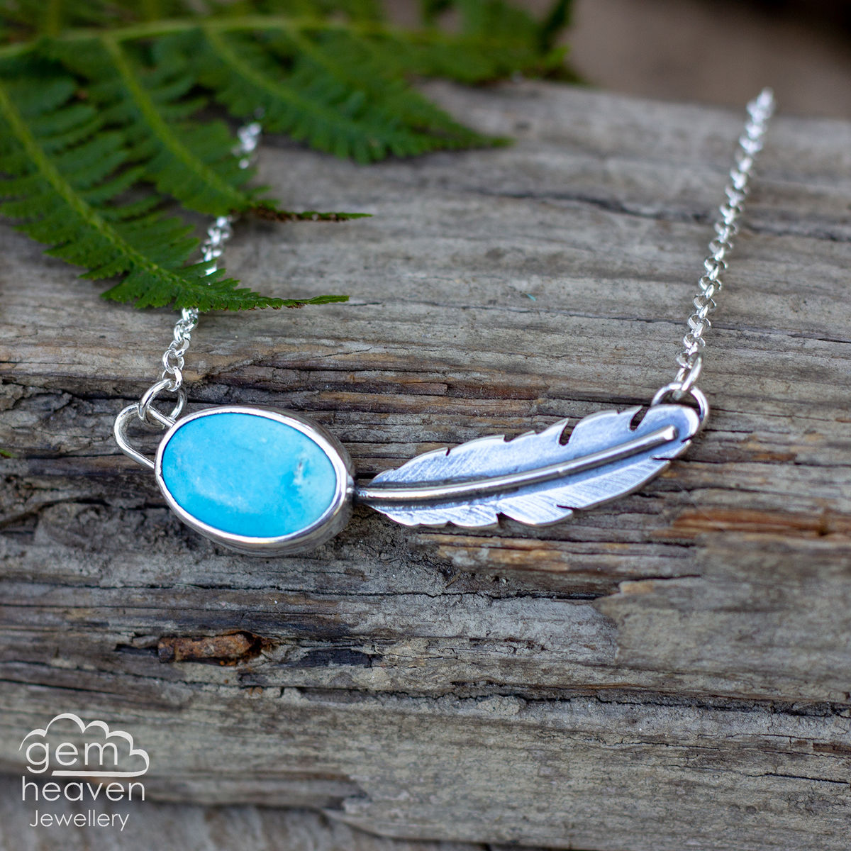 Morrigan Series Necklace with Turquoise - product images  of