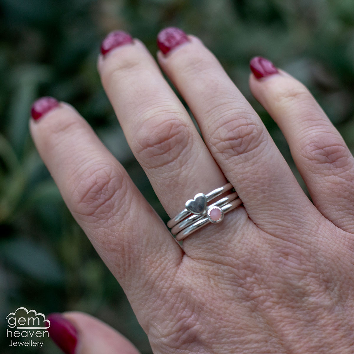 From the Heart Stacking  ring set  - product image