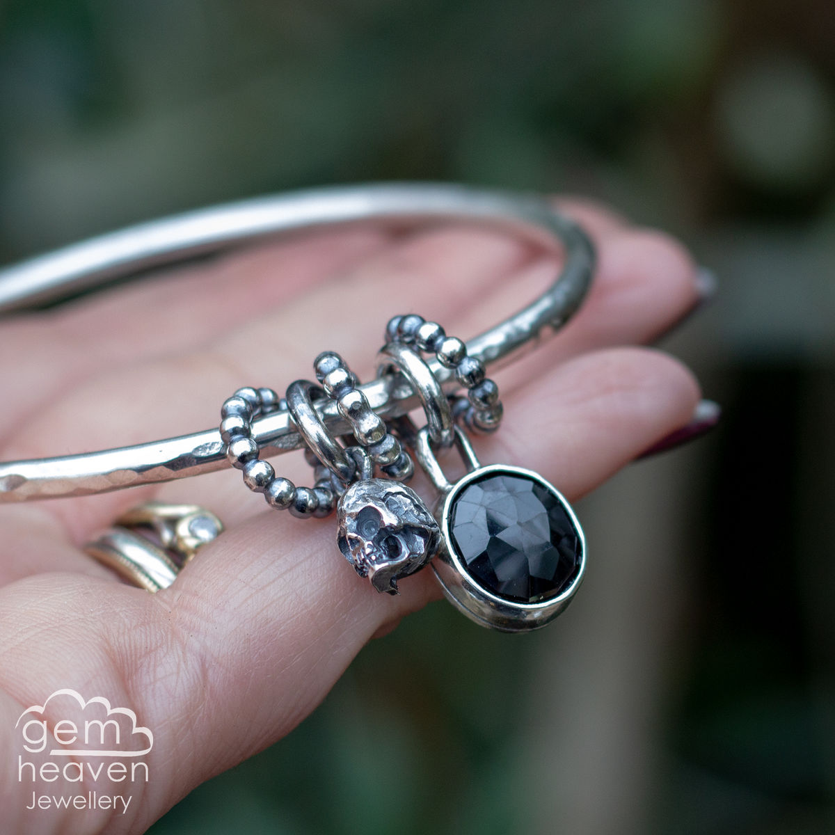 StoryTeller bangle ~ Dark Tales - product images  of