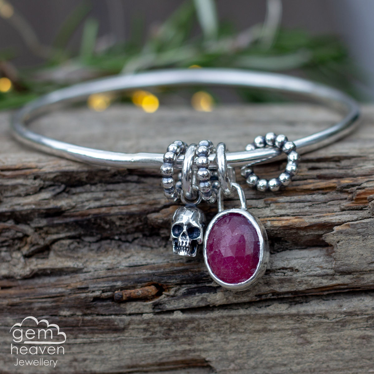 StoryTeller bangle ~ Dark Tales II - product images  of