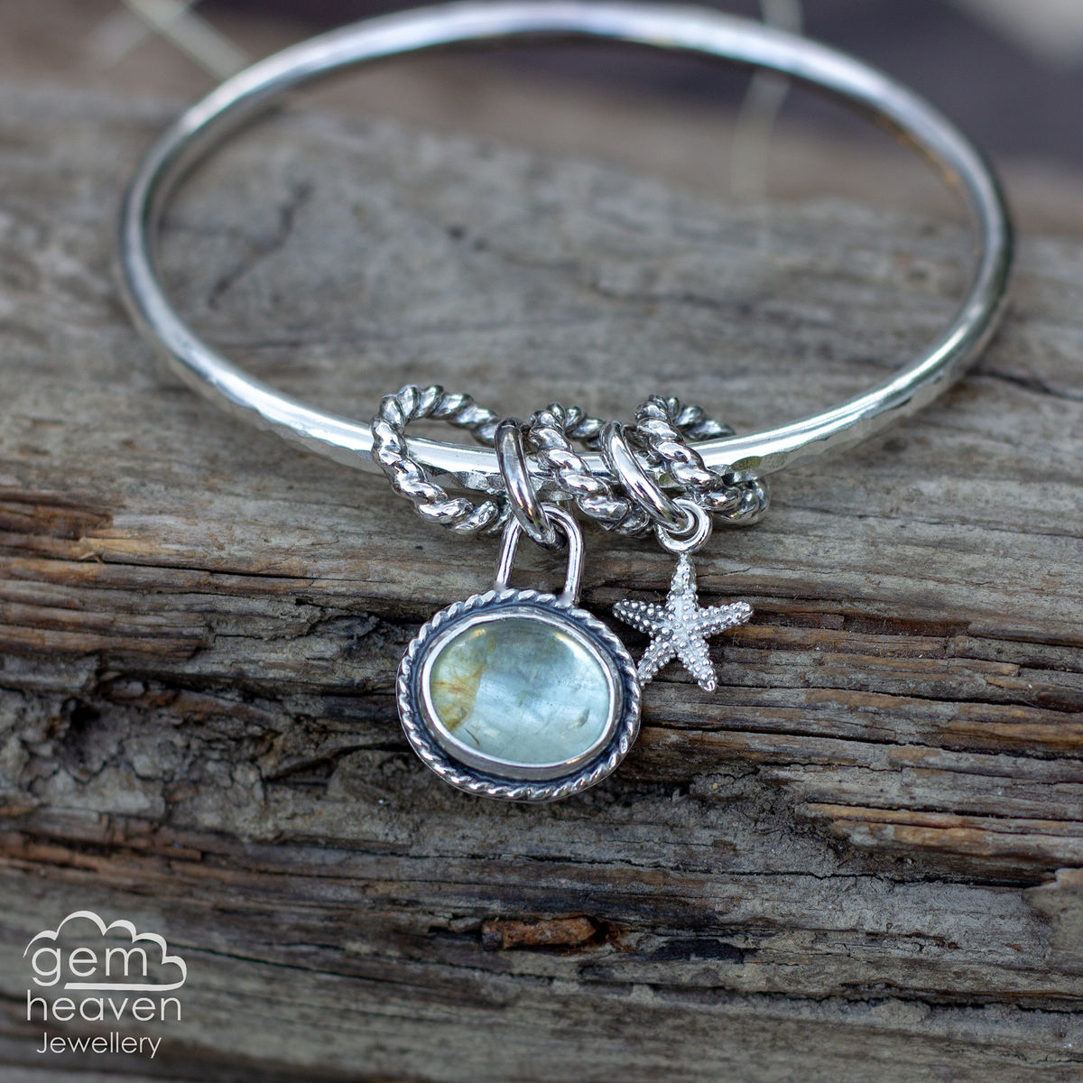 StoryTeller bangle ~ Ocean dreaming - product images  of