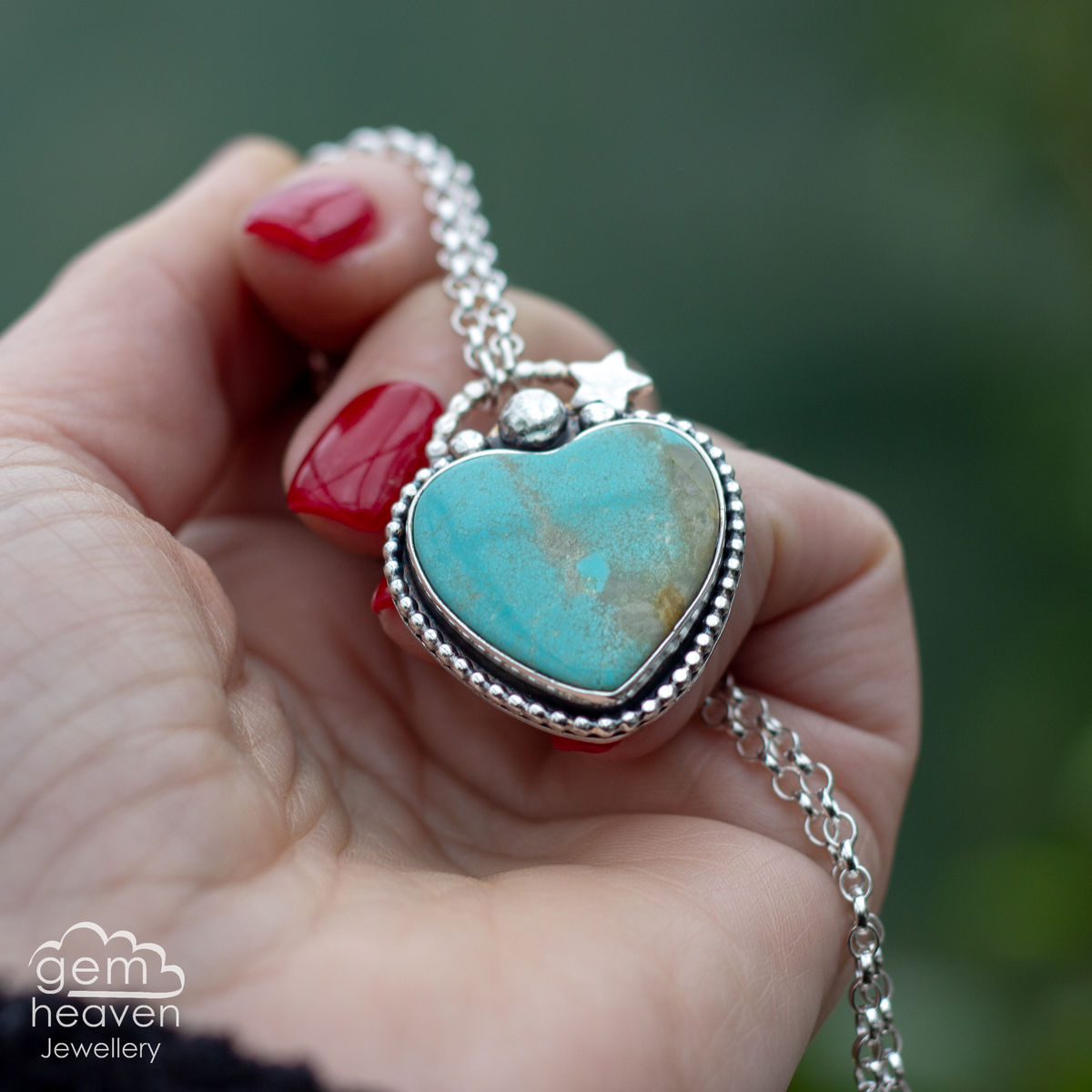 RESERVED Heartful Necklace - product images  of