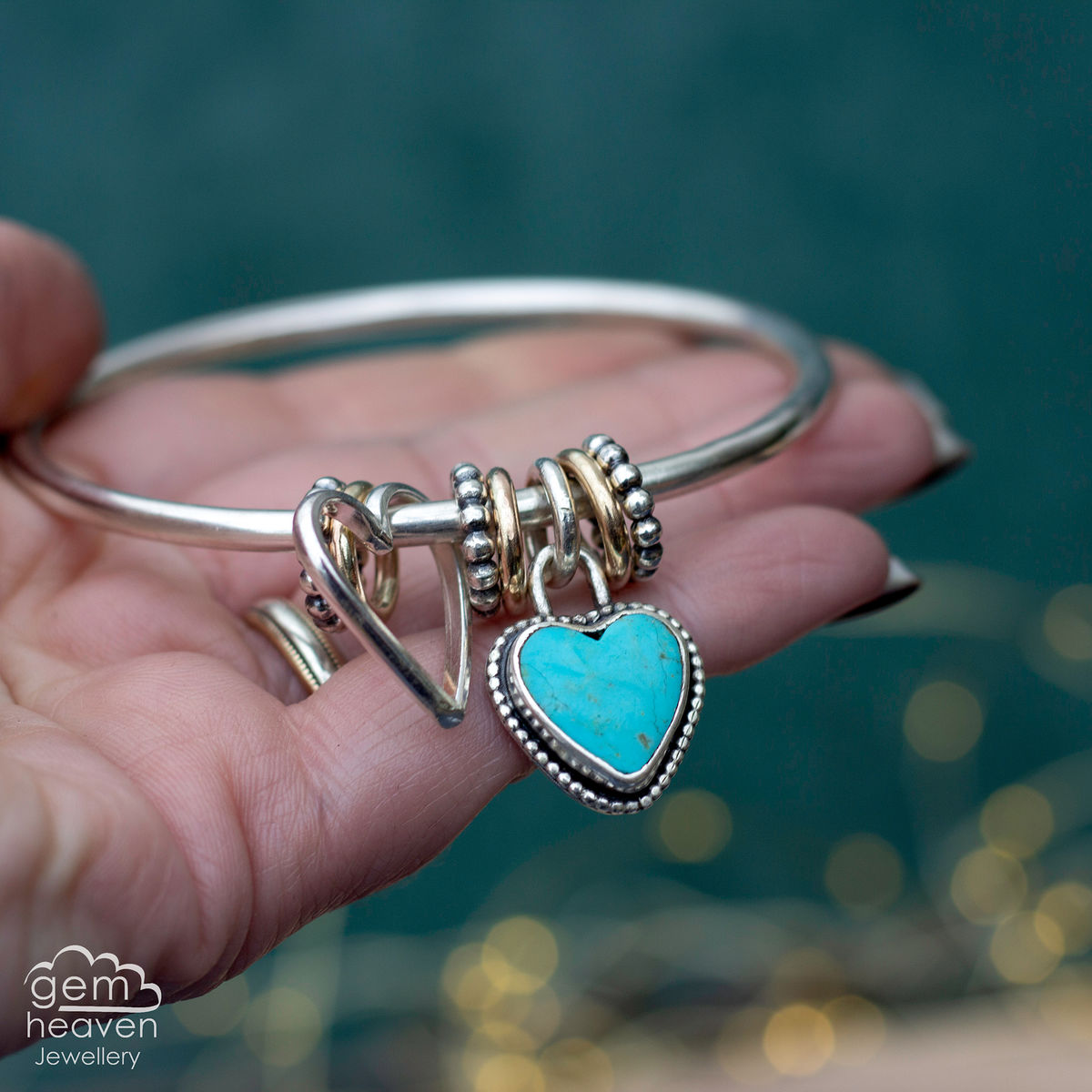 StoryTeller bangle ~ With Love - product image