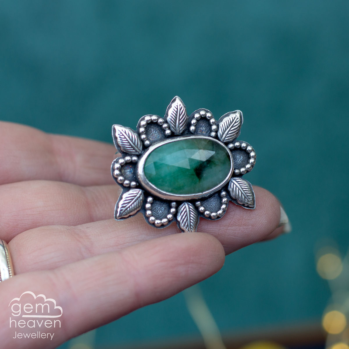 Lady of The Woods Statement Ring  - product images  of
