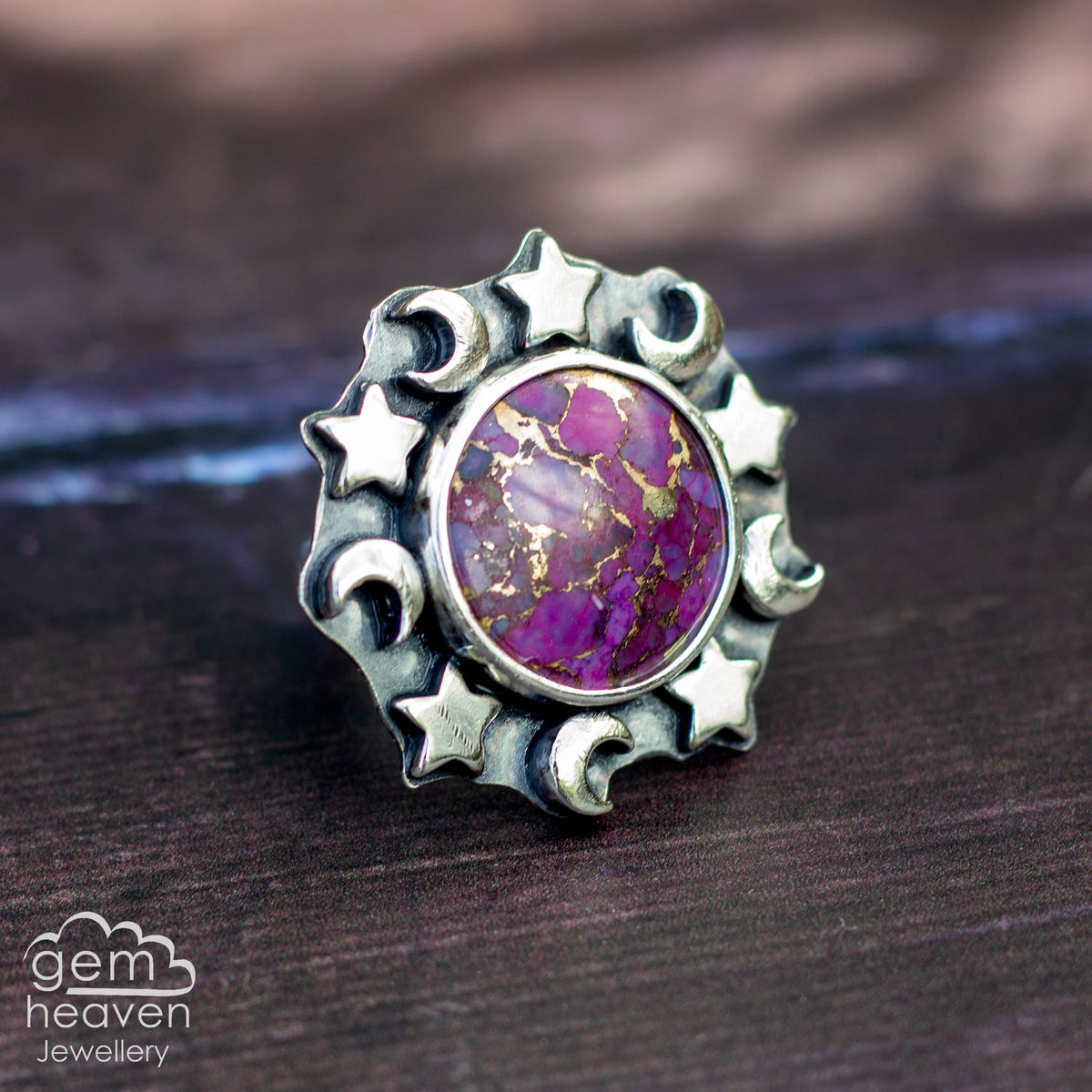 Too Many Moons Statement ring - product images  of