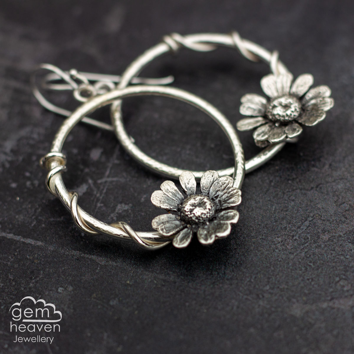 Daisy Daisy Hoops earrings - product images  of