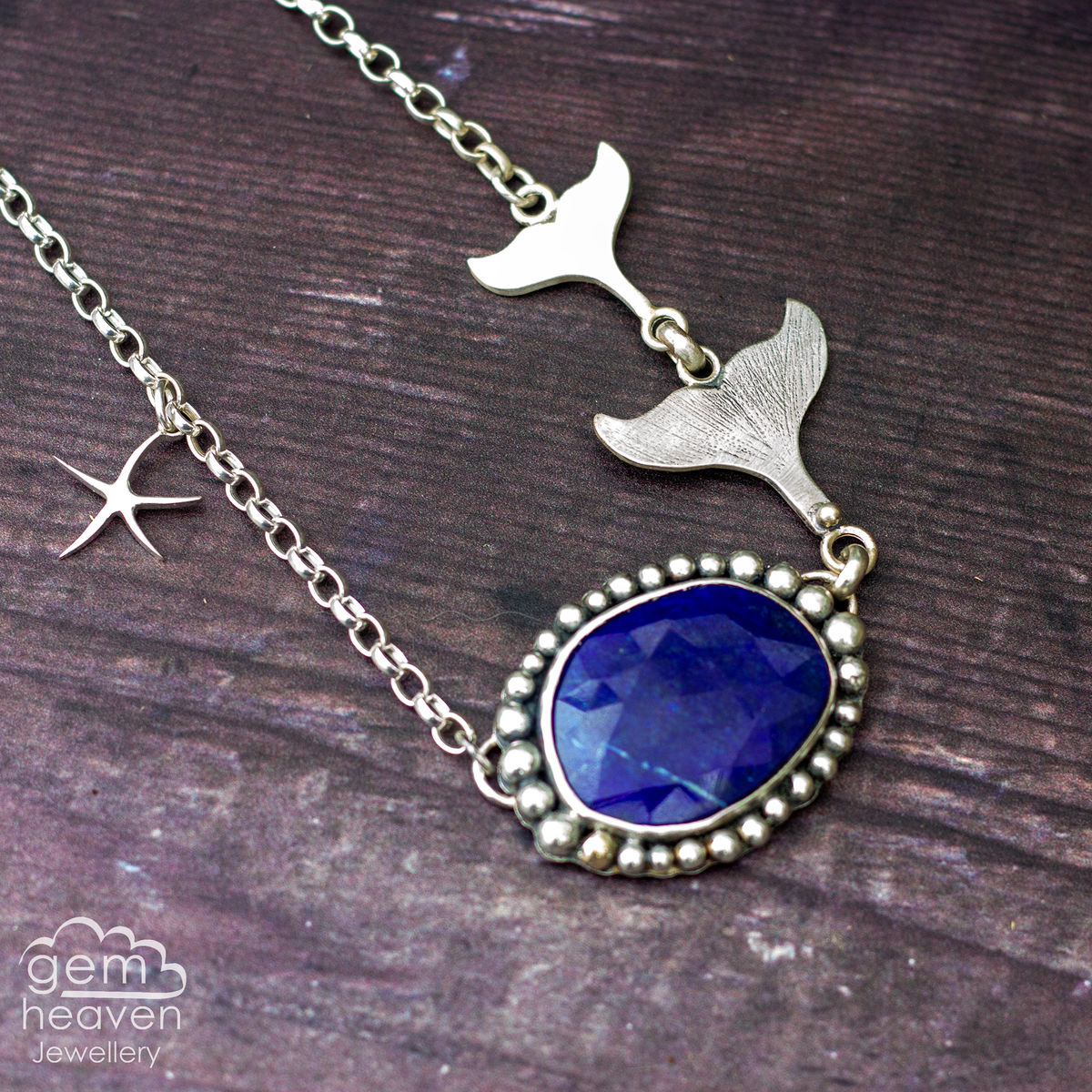 Mermaid Tales with Lapis Lazuli  - product images  of