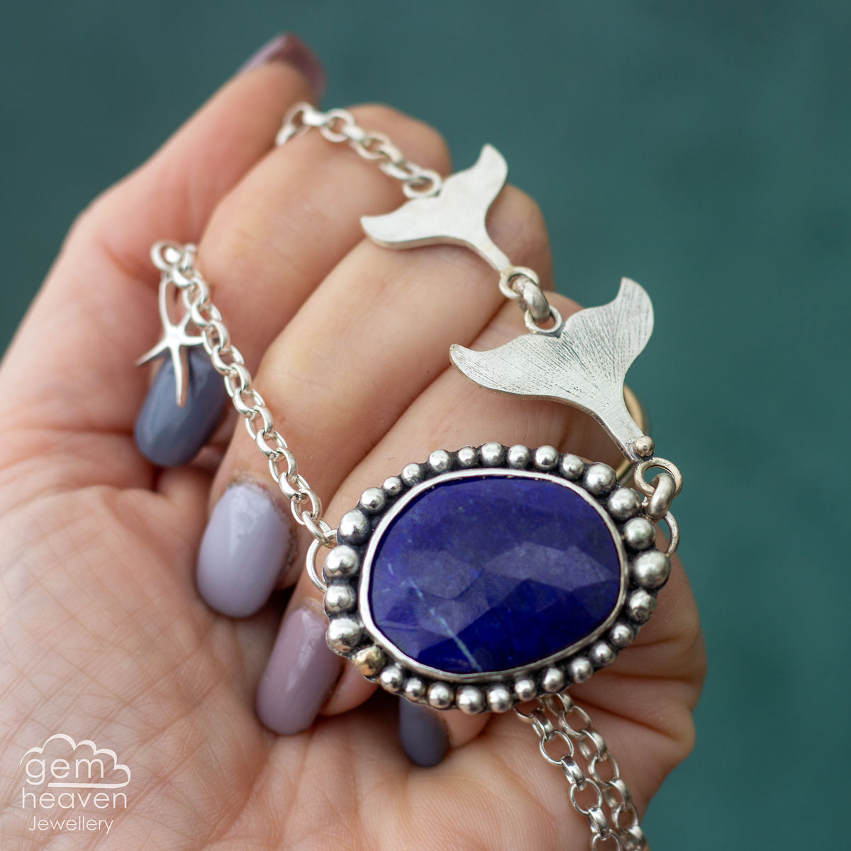 Mermaid Tales with Lapis Lazuli  - product image