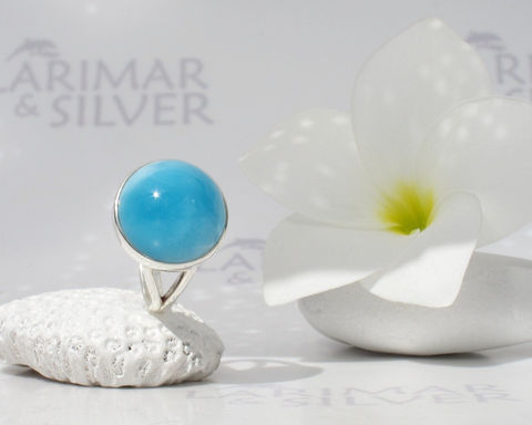 SOLD,OUT,-,Larimar,ring,size,6,by,Larimarandsilver,,Out,of,Gravity,space,blue,round,,electric,AAA,dot,handmade,Jewelry,Ring,Larimar_ring,Larimar_round,round_ring,larimar_jewelry,electric_blue,peacock_blue,blue_dot_ring,circle_ring,neon_blue,AAA_Larimar,open_sky,blue_circle,sapphire_round,925 sterling silver,aka Pectolite,aka Atlantis stone,aka Dolphin ston