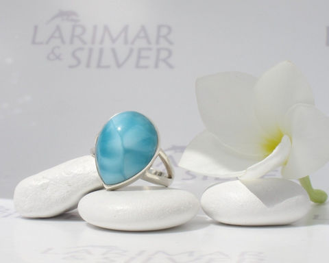 SOLD,OUT,-,Larimar,ring,size,6.5,by,Larimarandsilver,,Sea,of,iridescent,Dreams,Jewelry,Ring,Larimar_ring,Larimar_pear,pear_ring,larimar_jewelry,sea_blue_ring,aquamarine_ring,blue_pear_ring,Larimar_Etsy,bohemian_blue,cerulean,turtleback,blue_teardrop,mermaid_tear,925 sterling silver,aka Pectolite,aka Atlantis stone,aka Dolphi